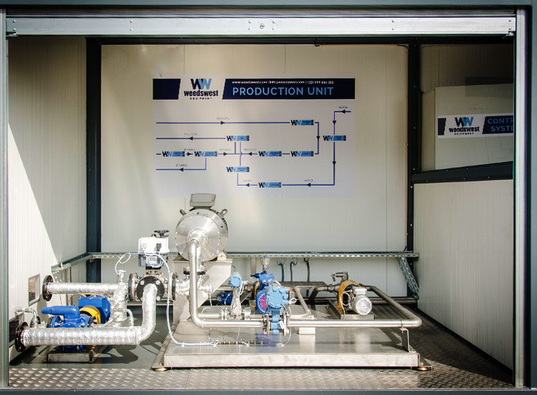 Production Unit of WeedsWest Bitumen Emulsion Plant