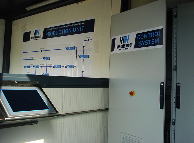 Control System of WeedsWest Bitumen Emulsion Plant