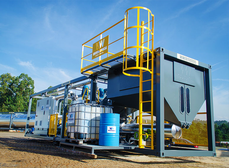 Modipav - WeedsWest Polymer Modified Bitumen Plant