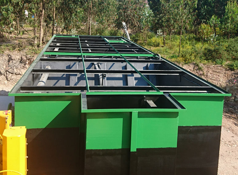 Compact Wastewater Treatment Plant